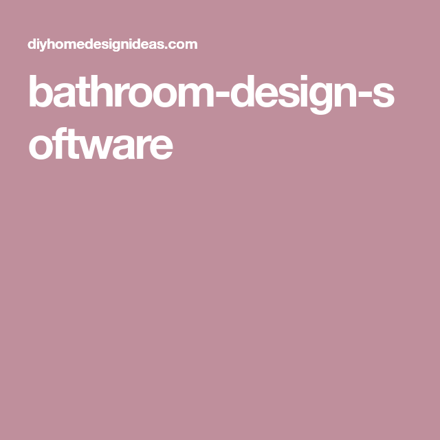 Diy Home Design Ideas Com: Bathroom Design Tool, Bathroom