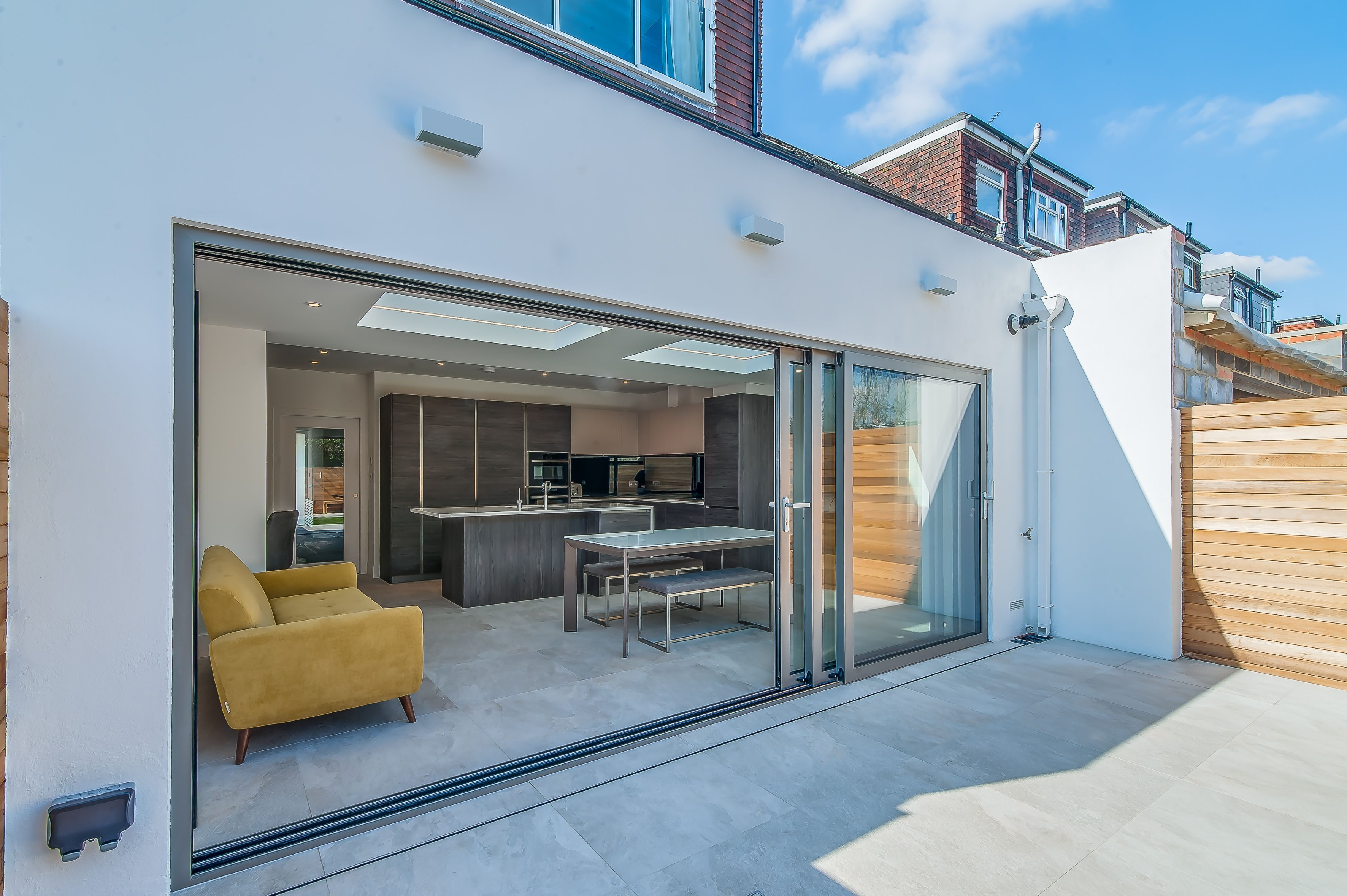 50 Degrees North Architects ground floor rear extension in South ...