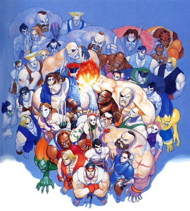 7d7f2868e04 Super Street Fighter II Tournament Battle Characters