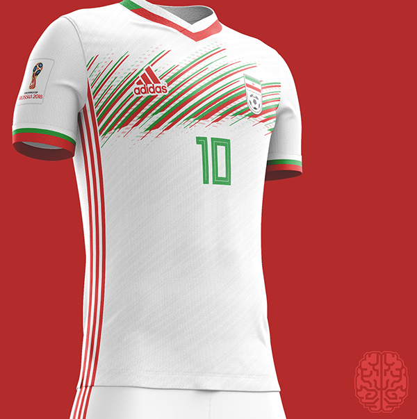 FIFA World Cup 2018 Kits Redesigned on Behance  90c05fdf0