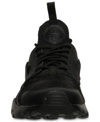 quality design 9eed2 ae2d3 Nike Big Boys  Air Huarache Run Ultra Running Sneakers from Finish Line -  Black 3.5