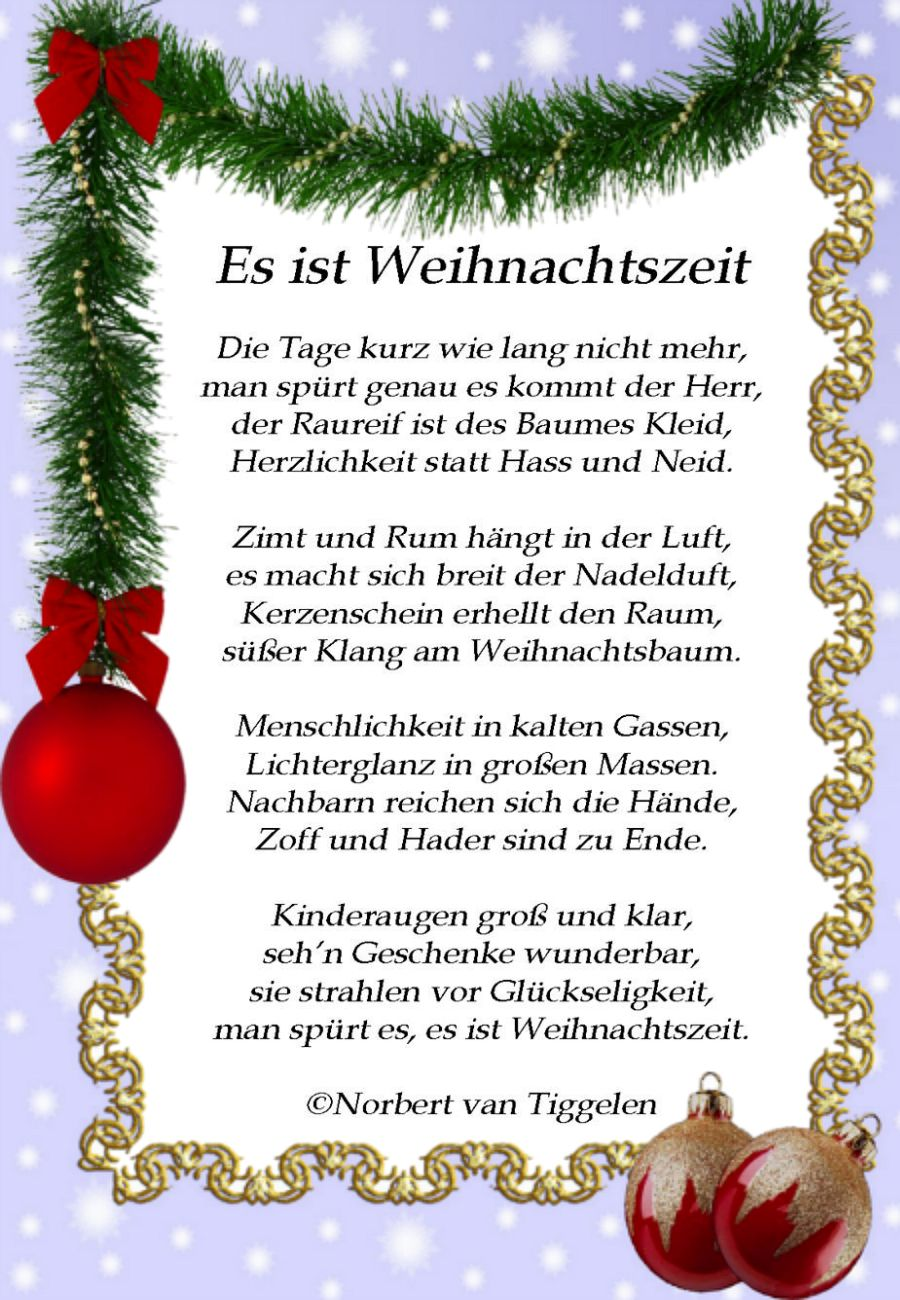 pin von gabriele honold auf winter pinterest weihnachten weihnachten spruch und gedicht. Black Bedroom Furniture Sets. Home Design Ideas