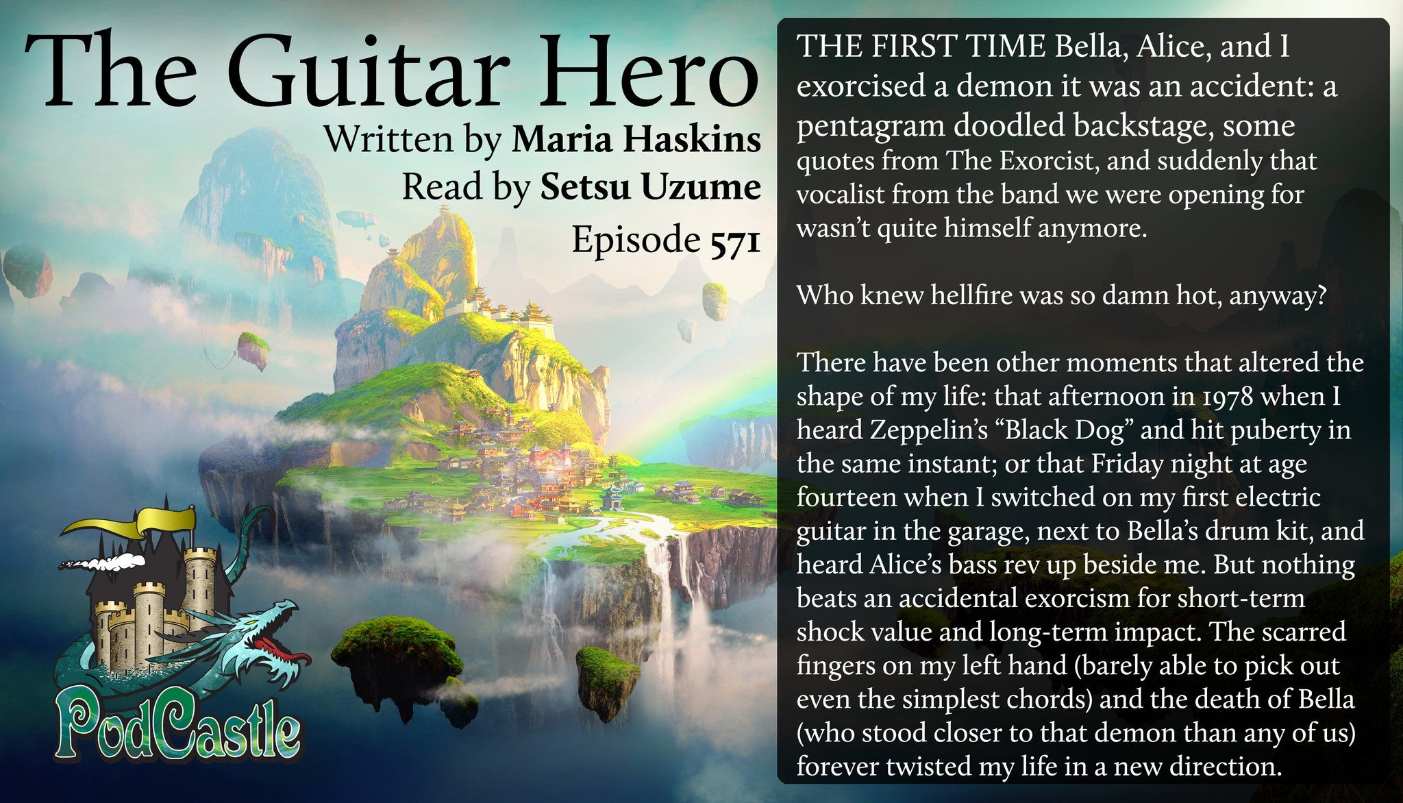 My story the Guitar Hero on the audio fiction podcast
