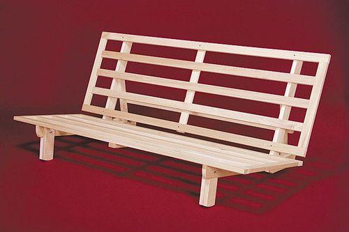 New Bi Fold Sofa Bed Wood Futon Frame Full Size Ebay Futon Bed