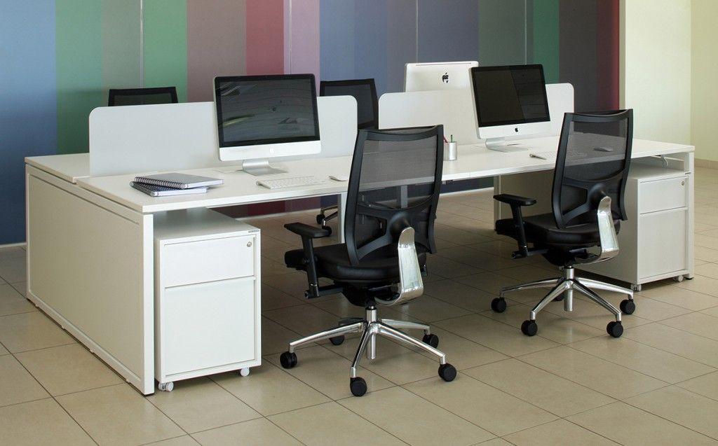 Marvelous Nova Slab End 4 Person Bench Desk Open Workspace In 2019 Cjindustries Chair Design For Home Cjindustriesco
