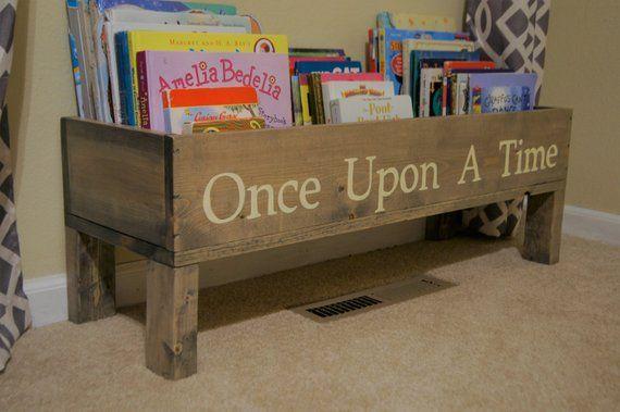 Bookshelf, baby nursery, bookcase, book bin, kids storage, bookcase, book storage, toy storage, kids books, kids room storage #kidsrooms
