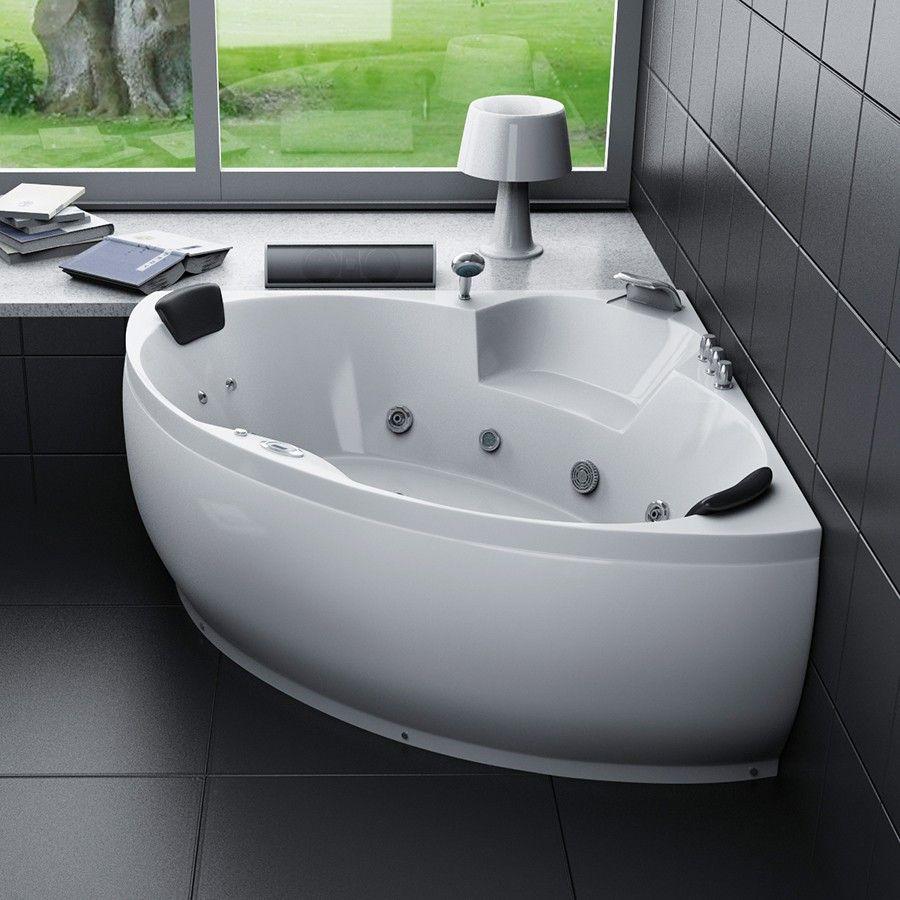 bain baignoire angle