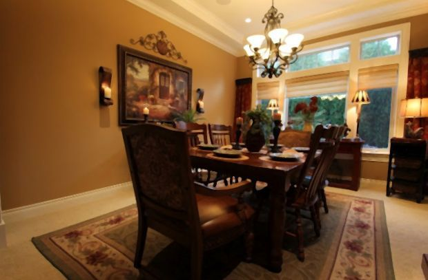 Tuscan Decor For Dining Room Home