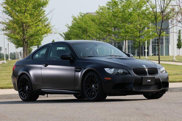 Bon BMW 2011 M3 U201cFrozen Blacku201d Edition