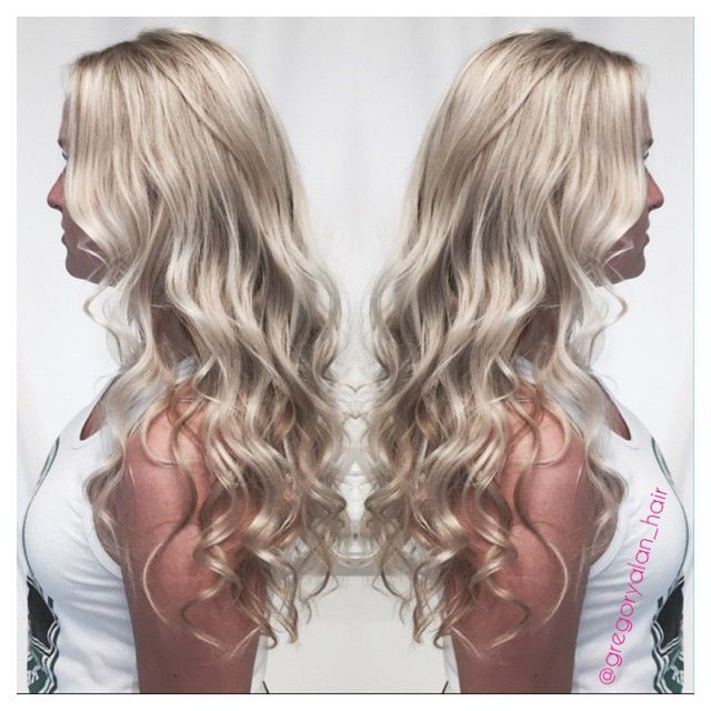 Gregory Alan On Instagram Ash Blonde With A Beautiful Natural Level 8 Base I Used A Balayage And Foil Highlight Technique Using M Blonde Ash Blonde Hair