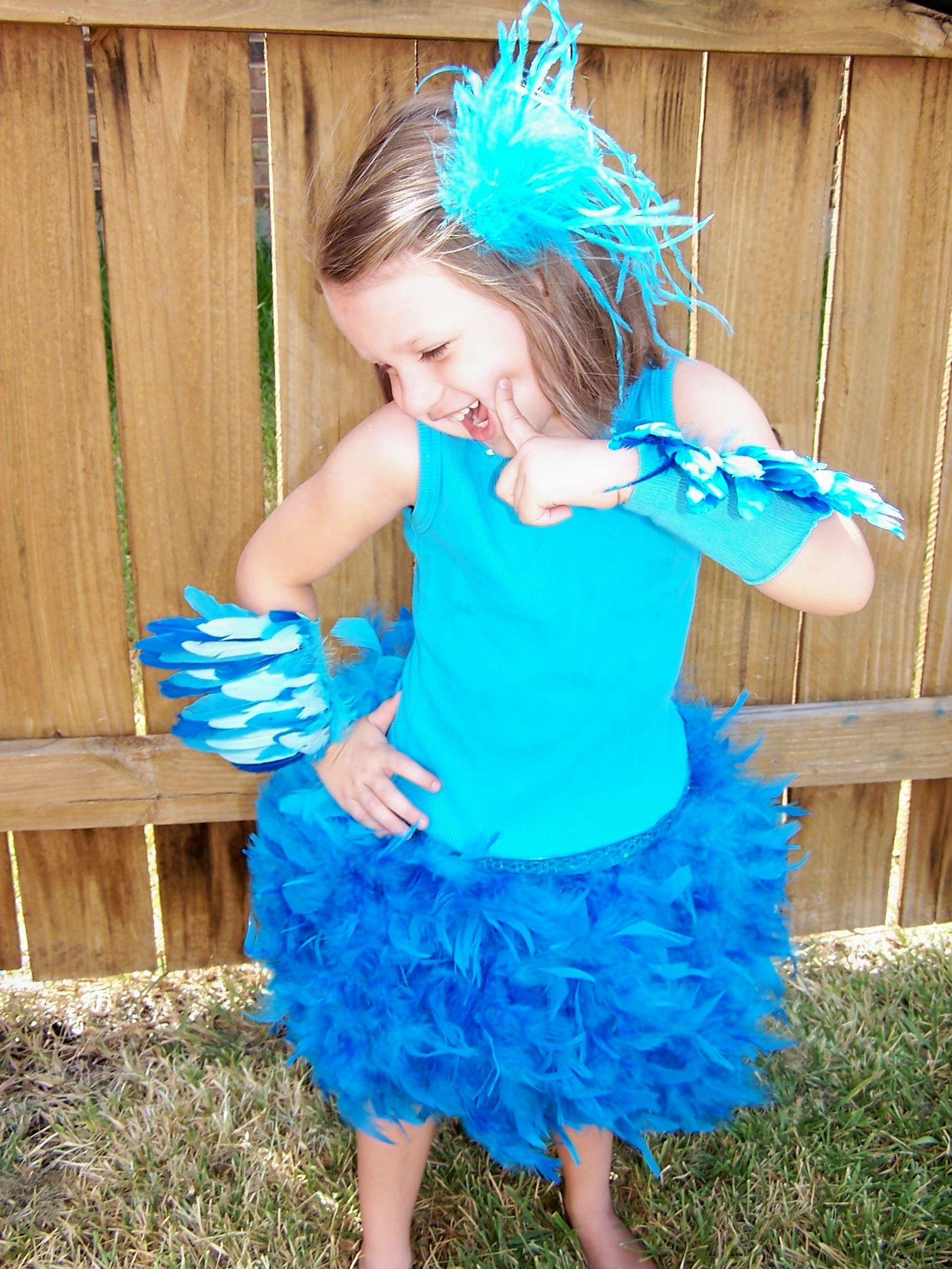 Rio Blu/Jewel blue Macaw Costume | Bird costume kids, Bird ...