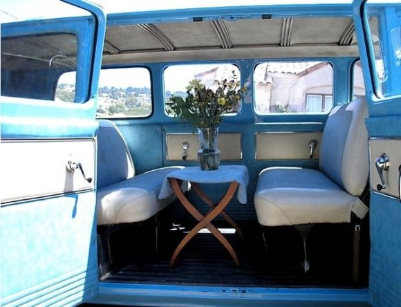 1961 Chevrolet Corvair Greenbrier Van For Sale Interior