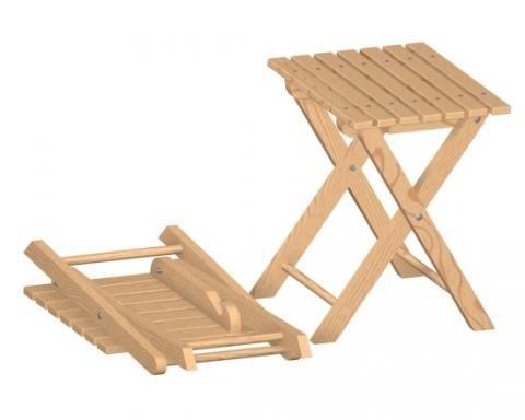 Folding Stool Plan Stool Woodworking Plans Sideboard