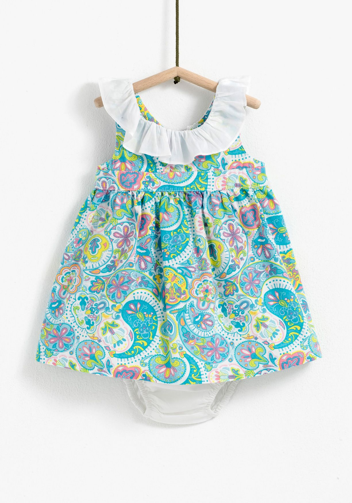 1c786263e Baby girl dress Carrefour - Tex - SS17 Pattern design: Amaya Cotarelo
