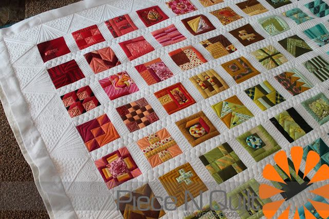 Piece N Quilt City Sampler Machine Quilted By Natalia Bonner Of