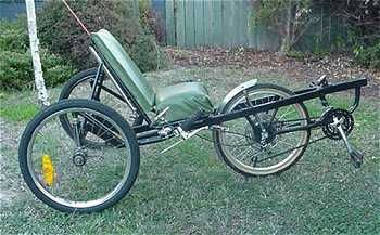 How to build a Rear Wheel Steering Front Wheel Drive Trike