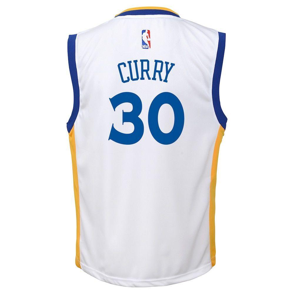 e3ddfc7c5a8 Boys 8-20 Golden State Warriors Stephen Curry Replica Jersey ...