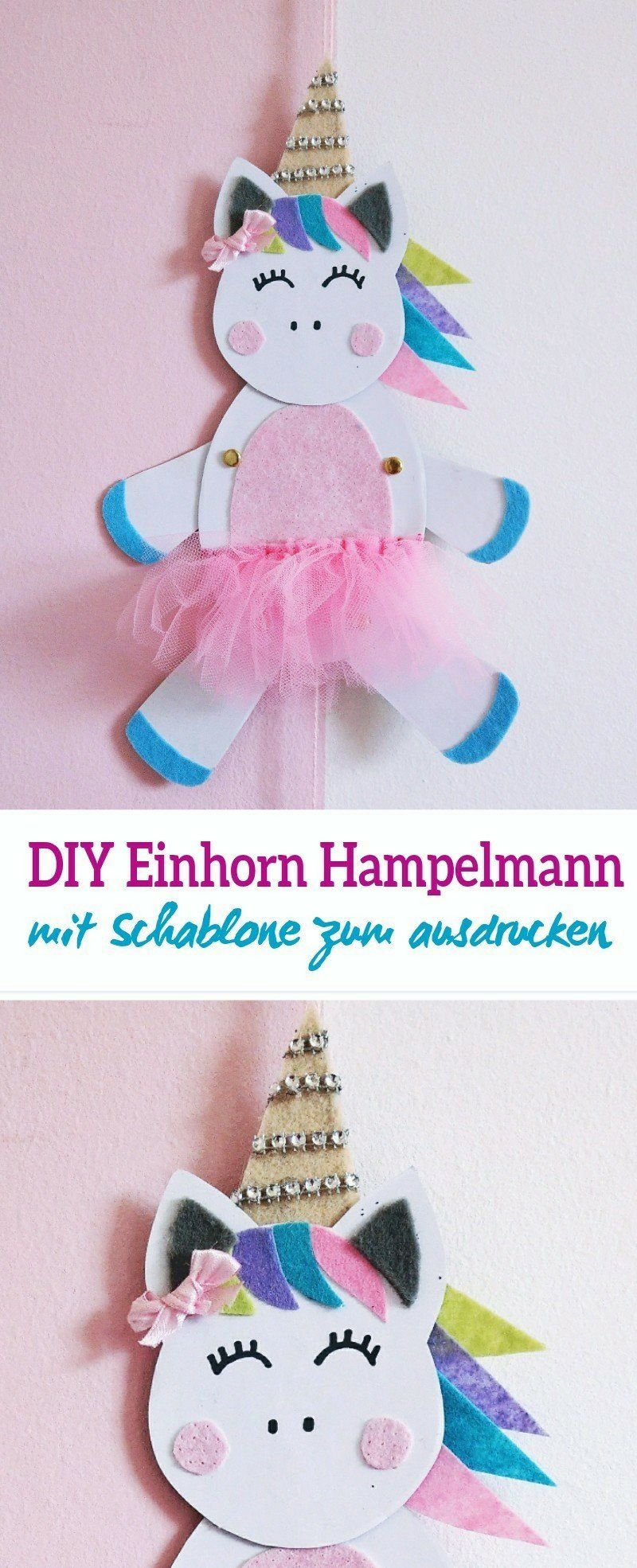 einhorn hampelmann selber basteln mit diy schritt f r schritt anleitung und freebie summer. Black Bedroom Furniture Sets. Home Design Ideas