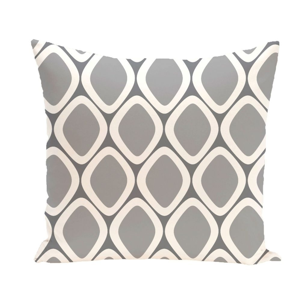 Decorate and personalize your home with geometric print pillows that