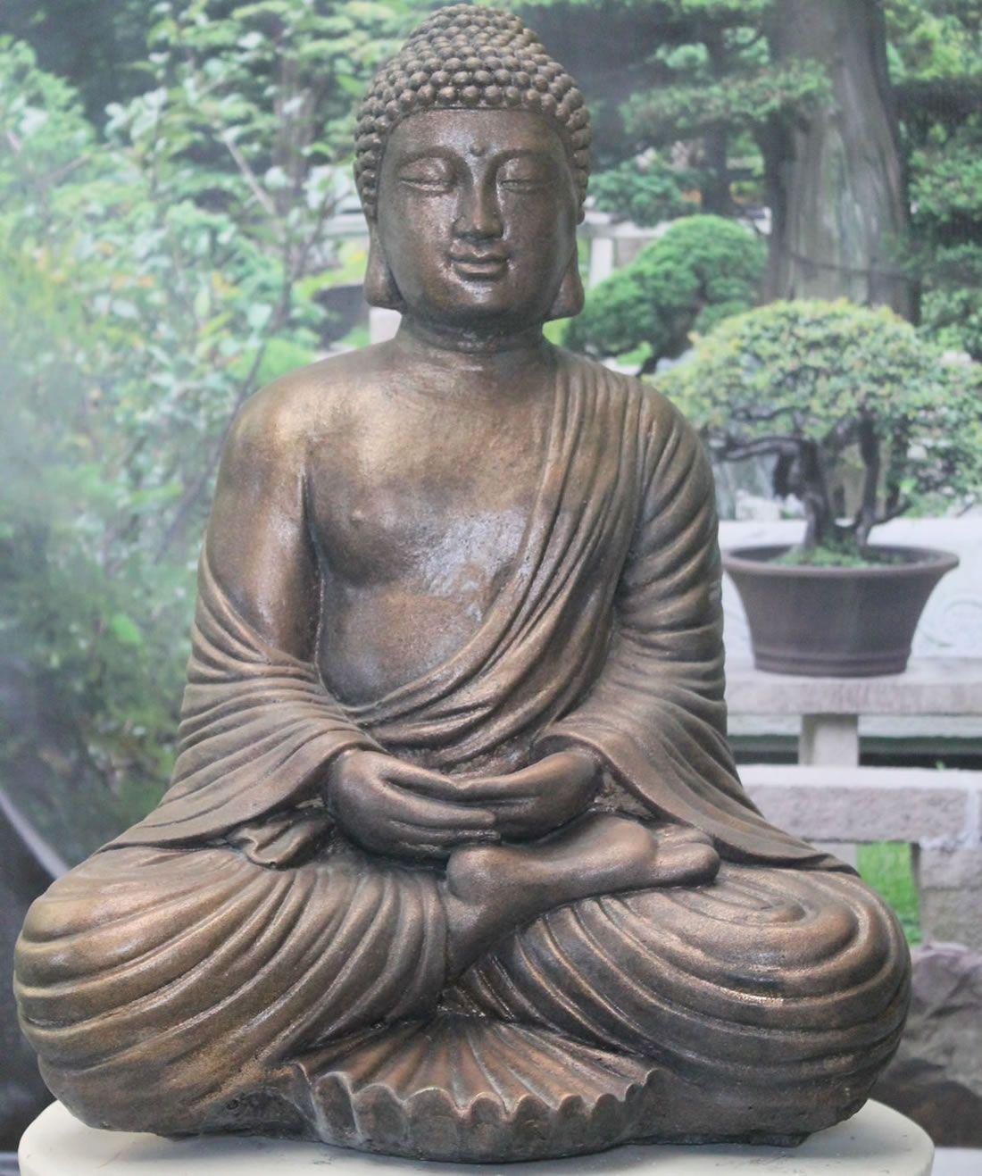 Garden Buddha Statues In Uk Geoffs Garden Ornaments Buddha Statue Garden Buddha Garden Buddha