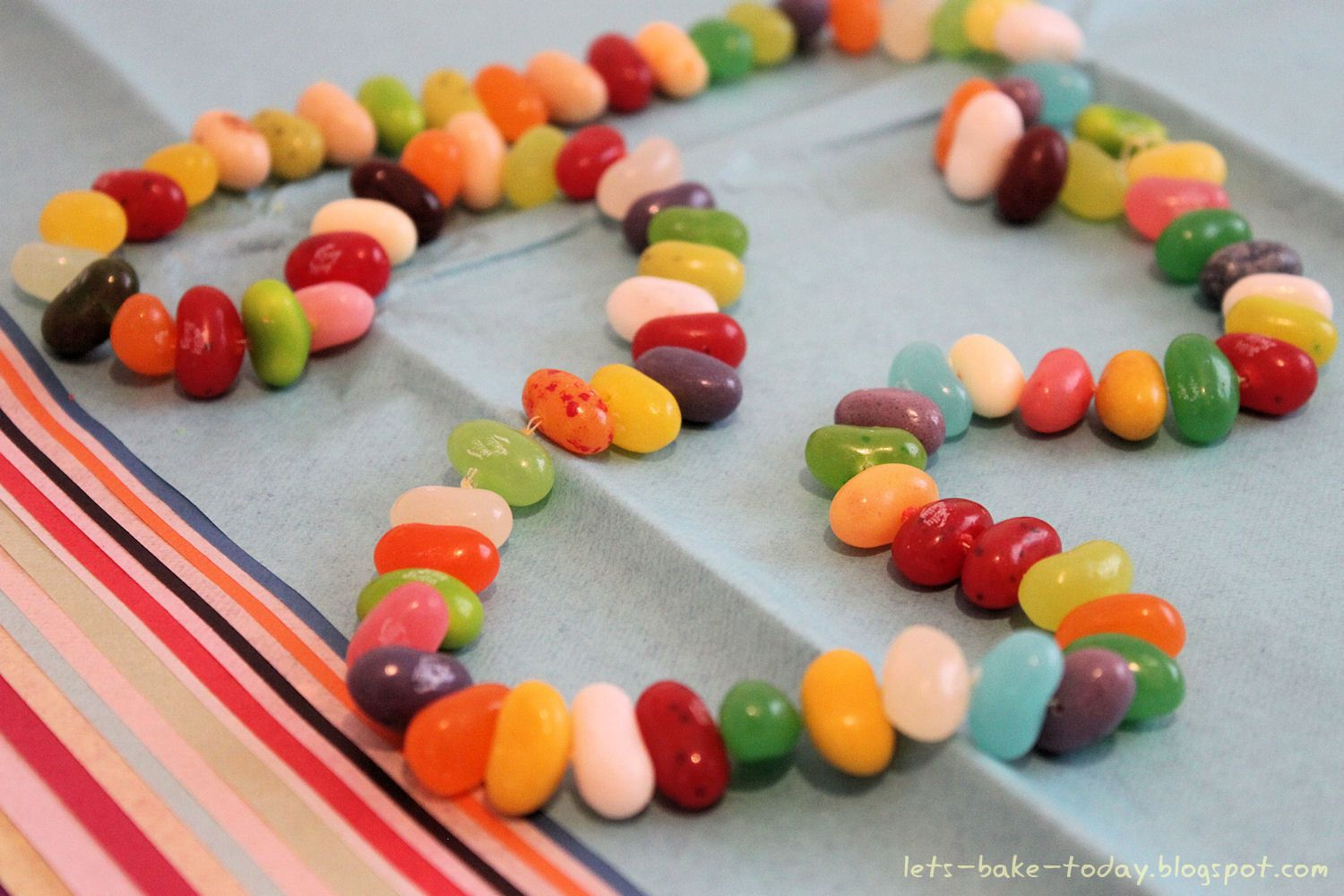 Jelly Bean Necklace