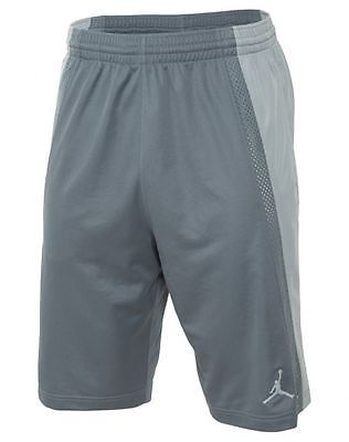 6a53e123fe9 Nike Jordan Baseline Short Mens 642321-065 Grey Basketball Shorts Size L
