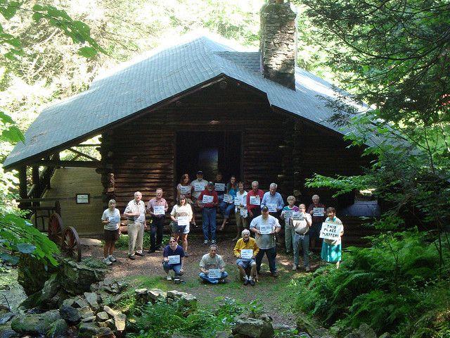 Armar Bordner Cabin in Swatara State Park, Pennsylvania by PreservationNation, via Flickr