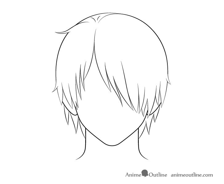 Pin By Svictoria On Tekenen In 2020 Anime Boy Hair Boy Hair Drawing Anime Drawings