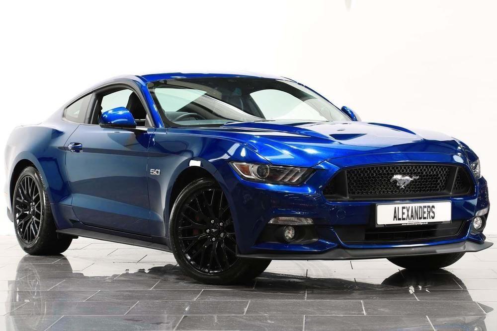 Ebay 2016 Ford Mustang 5 0 V8 Gt Fastback Petrol Blue Manual