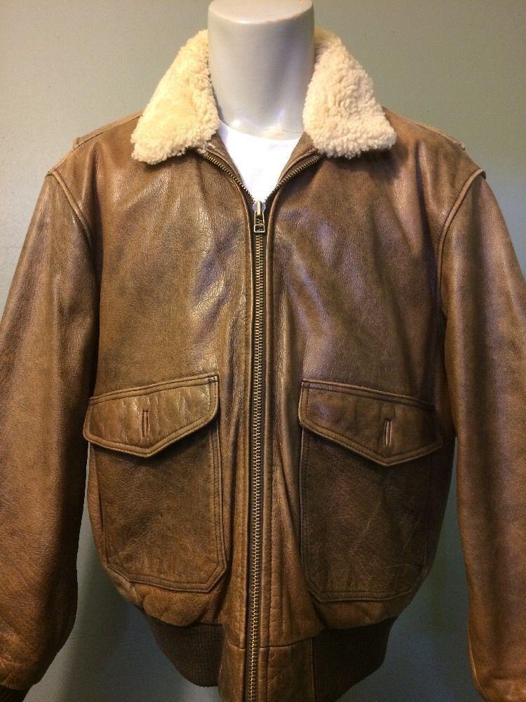 999137daef47a Womens Eddie Bauer G-1 Leather Bomber Flight Jacket Ladies M Coat Indiana  Jones #EddieBauer #Bomber #Outdoor