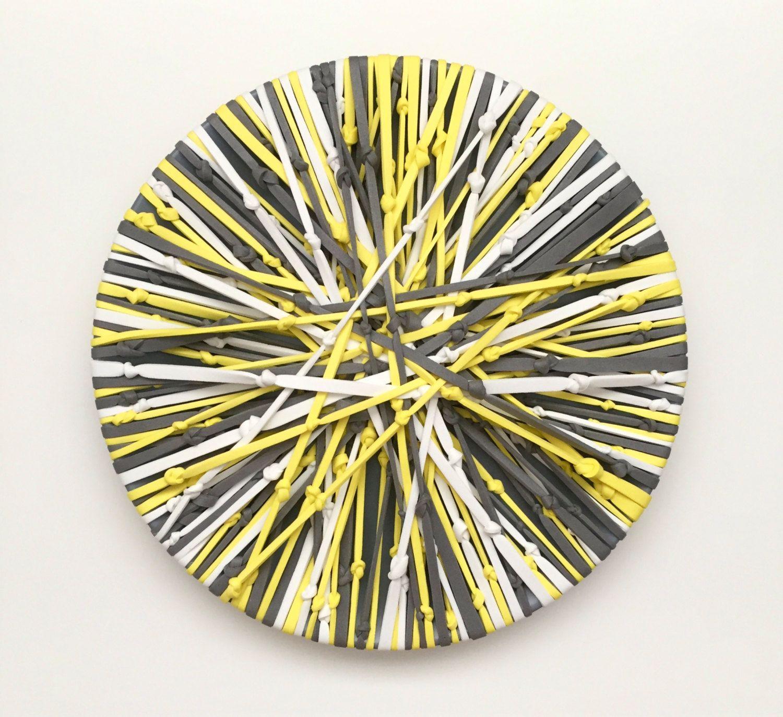 Web Art - Original 3D Art - Wall hanging - Wall Decor - Embroider ...