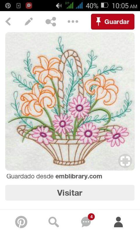 Pin de Aries Del Sol en bordados | Pinterest | Bordado, Bolsitas y ...