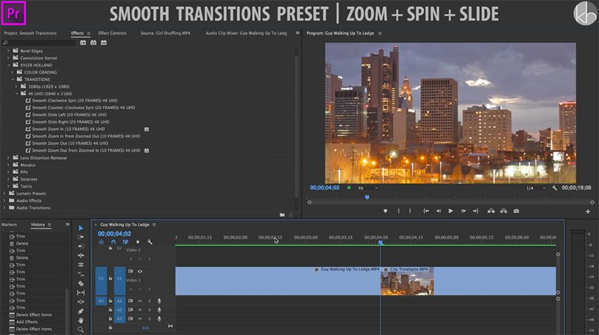 Download This Free Premiere Pro Cc Preset Pack With Awesome Custom