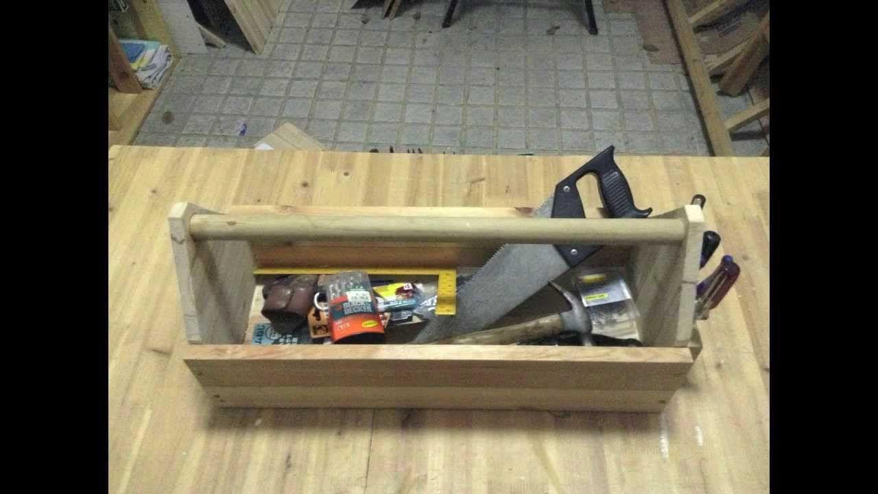 comment construire une caisse outils en bois fourgon rangement pinterest caisse bois et. Black Bedroom Furniture Sets. Home Design Ideas