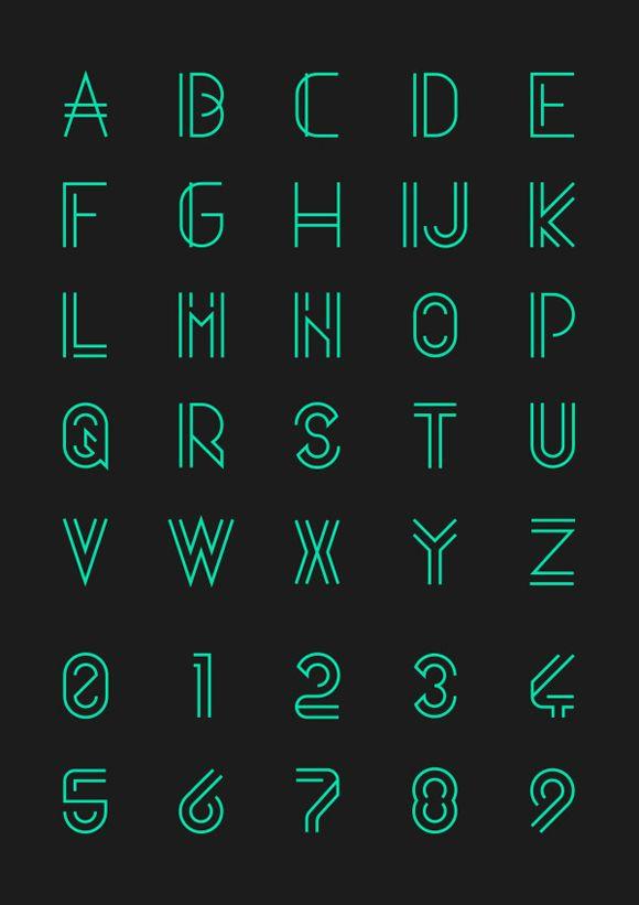 Freebies #32 • 6 Fontes Modernas e Novas-Des1gn ON - Blog de Design e Inspiração.