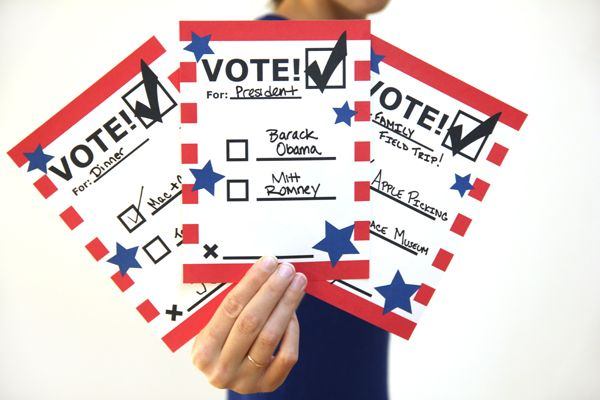 DIY Printable Voting Ballots for Kids | Education | Voting ...