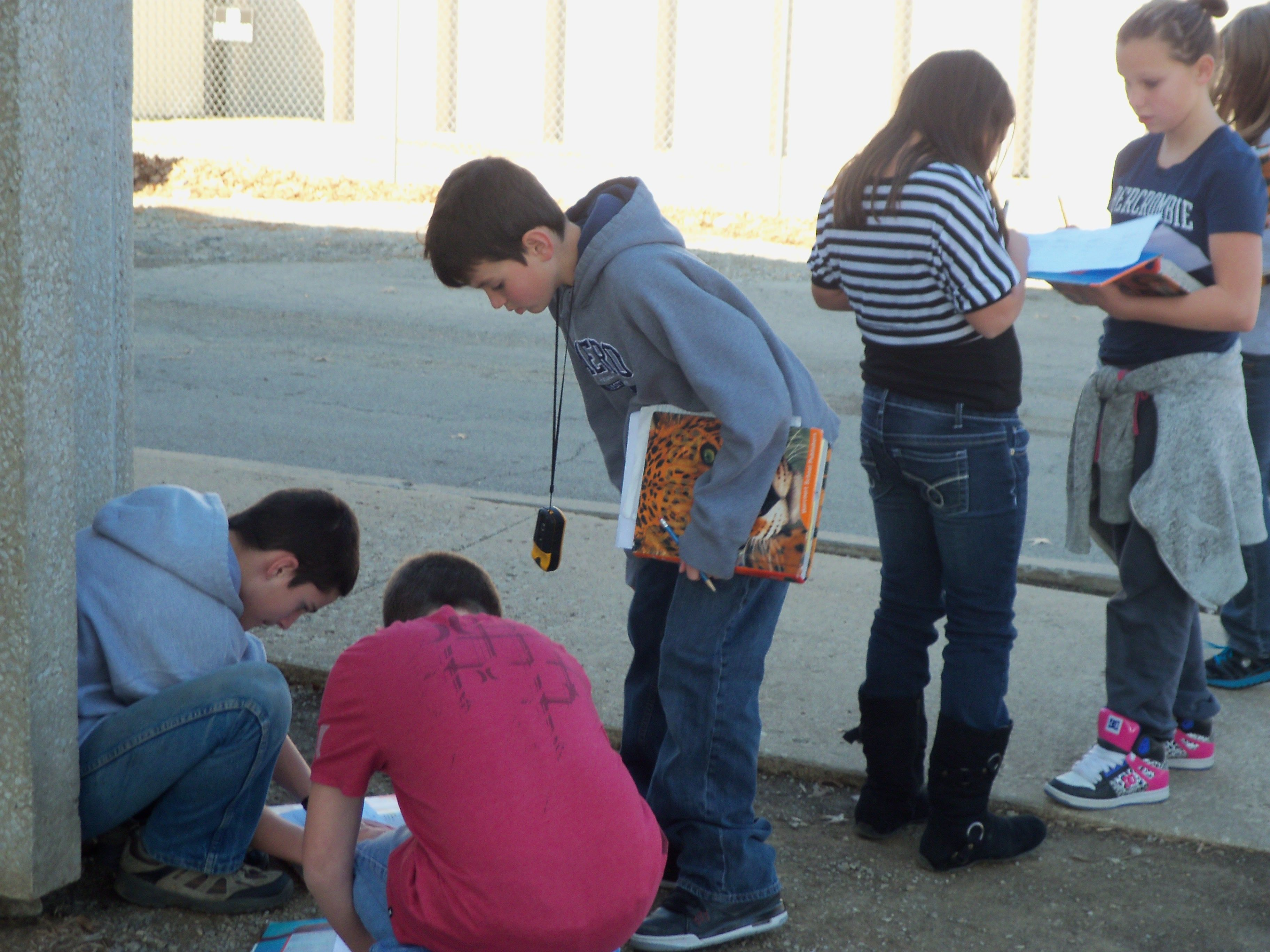 Geocaching Is Catching Students Attention In The