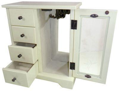 Buy Vintage 4 Drawer Wooden Jewellery Box At Argos Co Uk Visit