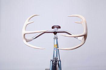 Aluminum Alloy Bullhorn Antler Fiber Road Bicycle Handle Bars