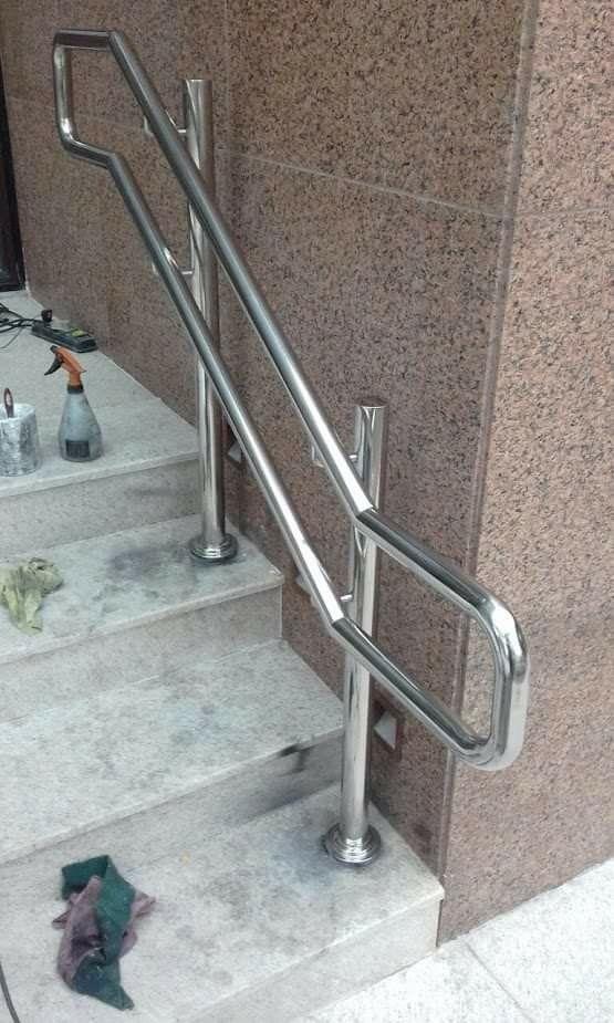 Perila Steel Railing Design Window Grill Design Modern Steel Door Design