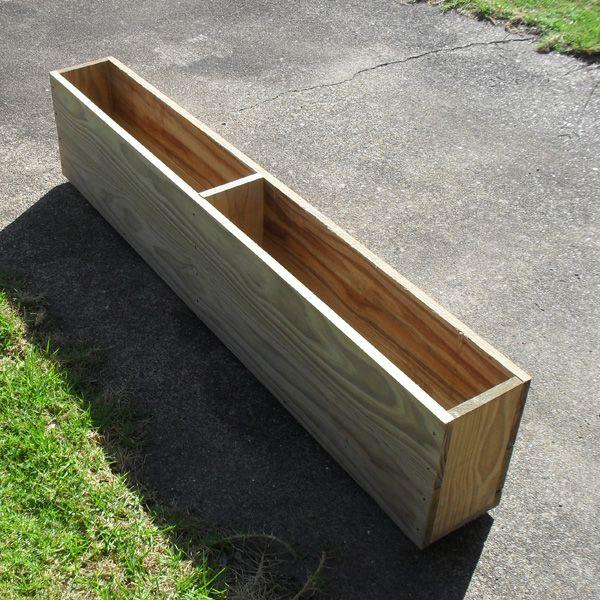 Narrow Box Planter Long Planter Long Planter Boxes Garden Planter Boxes
