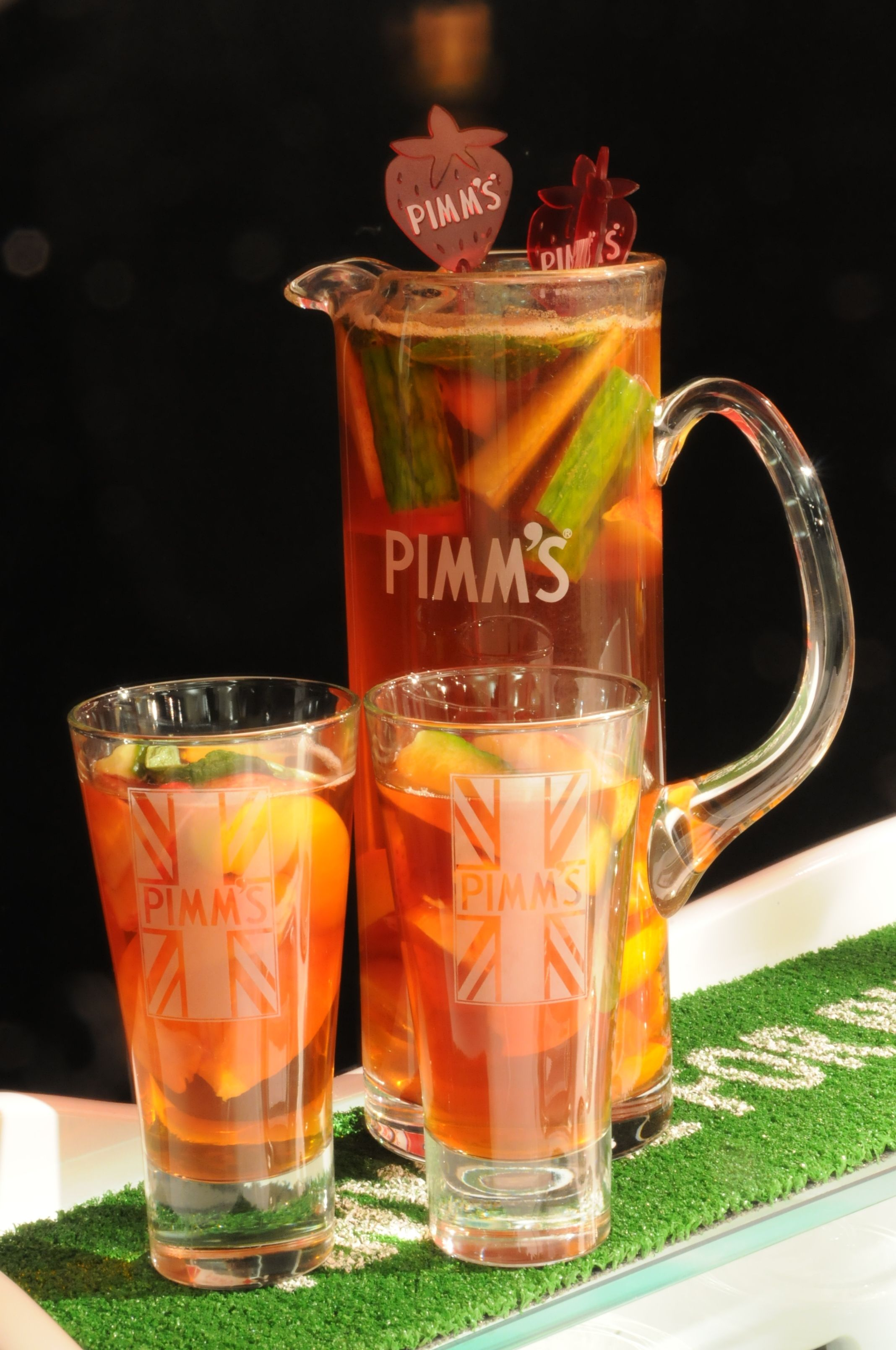 Pimm's served of our Pimm's Tricycle | Ideas Box | London