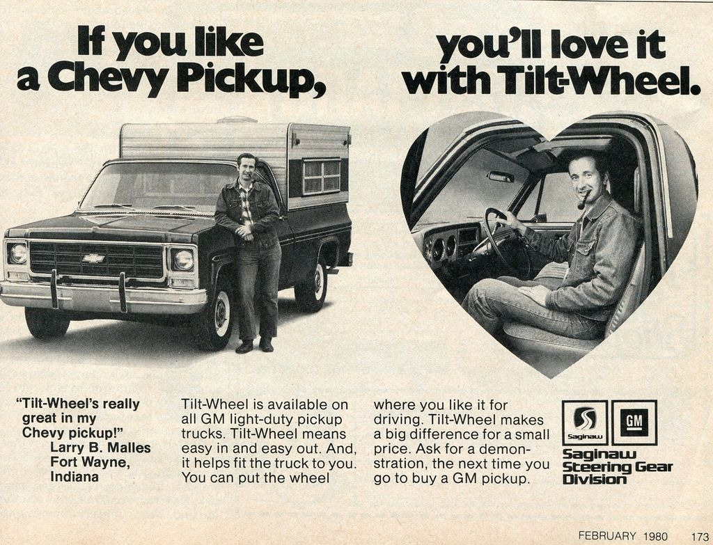 1979 General Motors Gm Pickup Truck Ad In Popular Mechanics