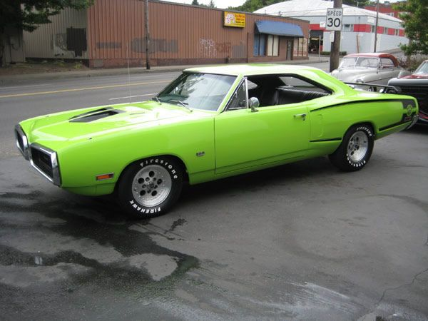 1970 Dodge Super Bee I've seen one of these down town of