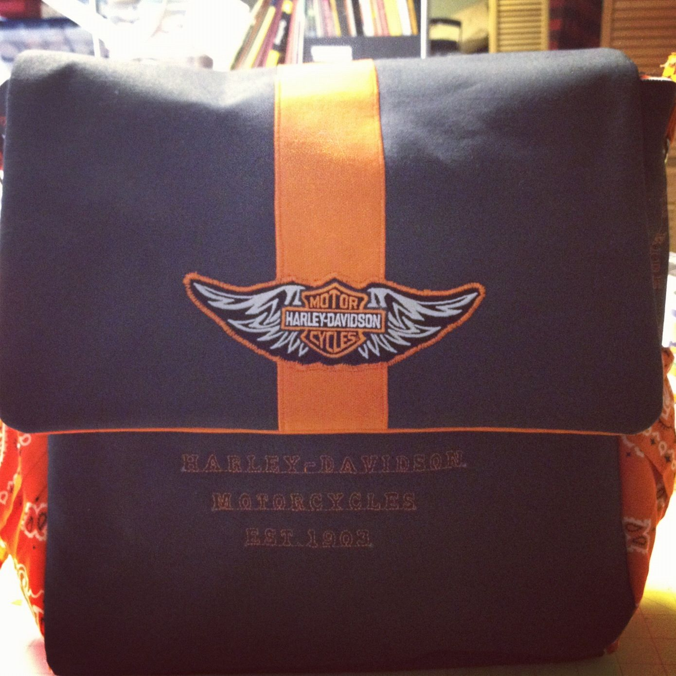 Harley Davidson Diaper Bag So Awesome Awesome Diaper