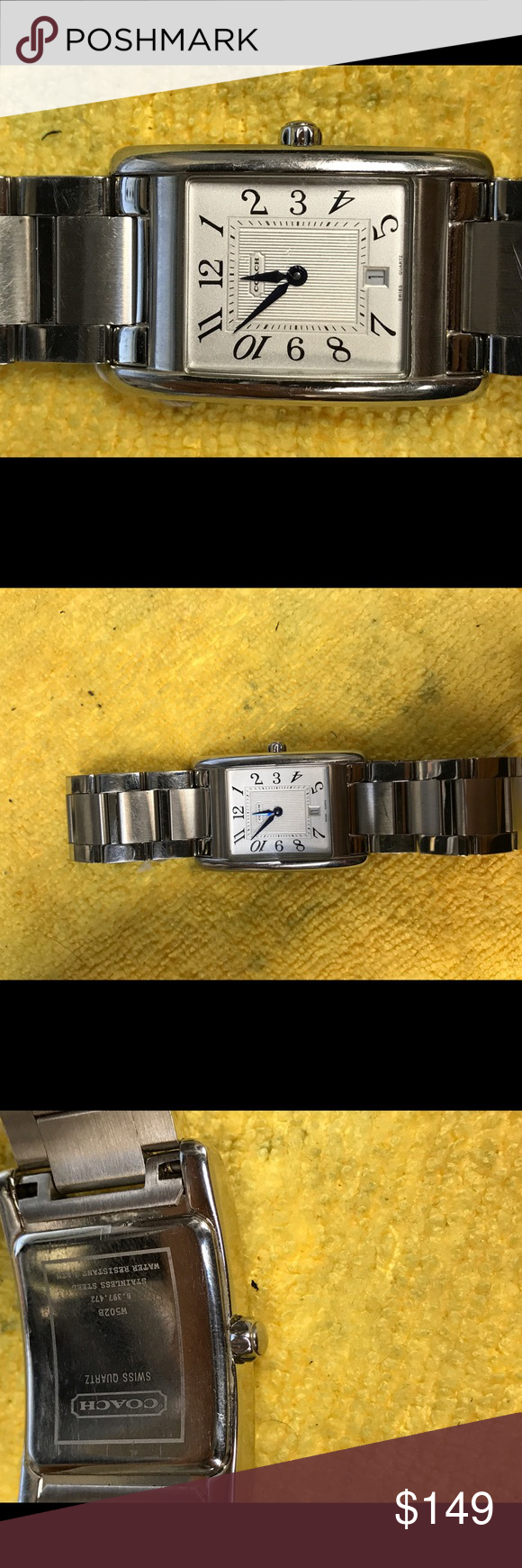Women's coach watch preowned Preowned women's watch. No flaws works great Coach Accessories Watches