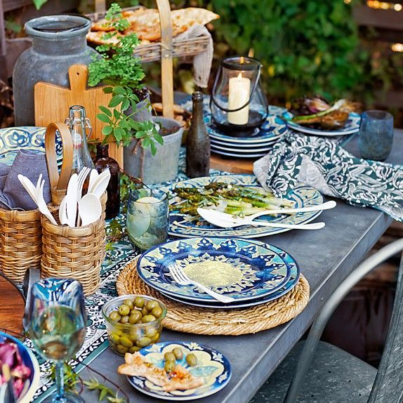 Beau Image Result For Mediterranean Table Setting