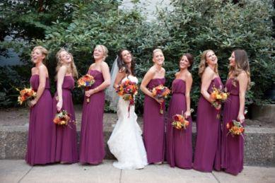 bridesmaid fall colored bridesmaids dresses - Fall Colored Bridesmaid Dresses