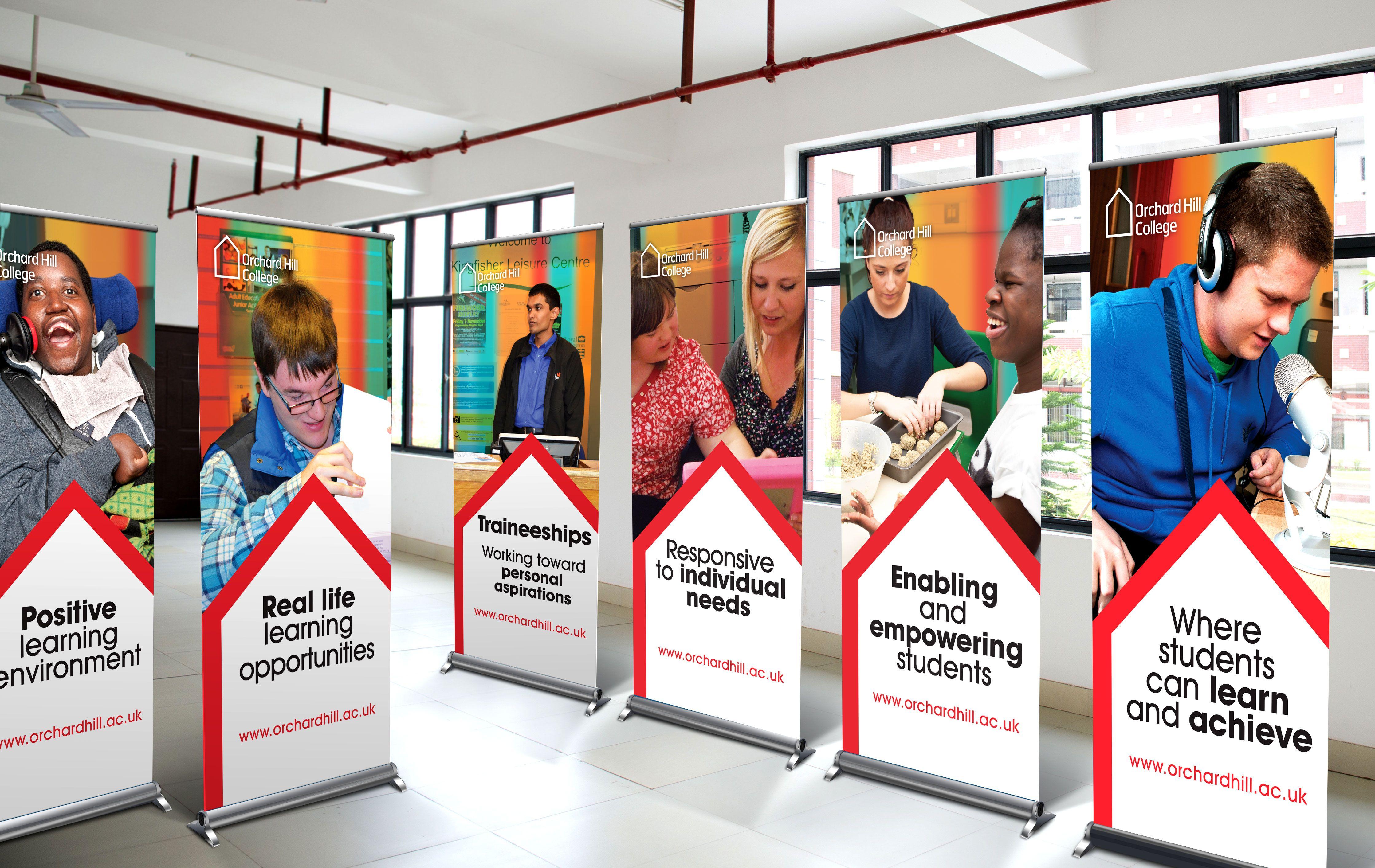 College Banner Design