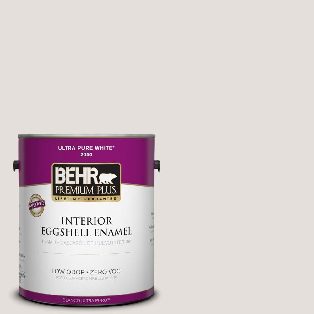 BEHR Premium Plus Home Decorators Collection 1-gal. #hdc-CT-17 Pale Starlet Zero VOC Eggshell Enamel Interior Paint